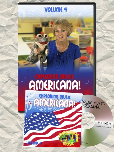 Americana DVD and CD Exploring Music