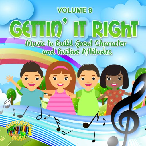 Build character and positive attitudes in children with music